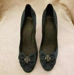 Delman Peacock Pumps
